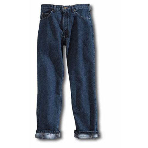 Carhartt B172 Relaxed-Fit Staight-Leg Jean / Flannel-Lined