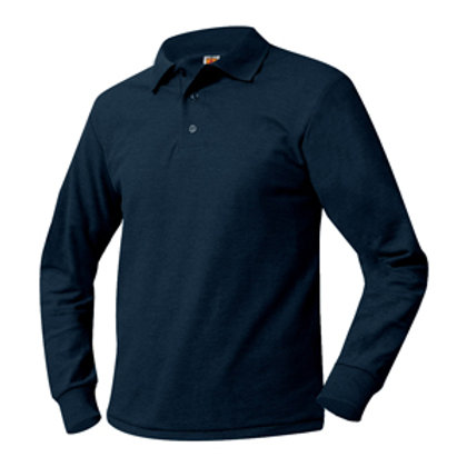 BT Navy L/S Polo with Logo (Winter Grade 1-3)