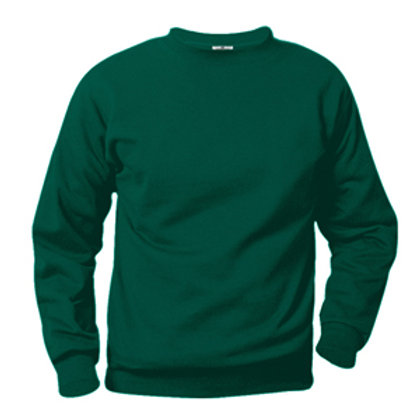 Green Sweat Shirt with Logo