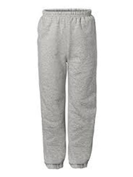 Grey Gym Sweat Pant with Logo