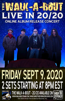 """Live In 20/20"" Concert Poster"
