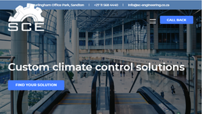 Industrial website copy editing for Specialised Climate Engineering