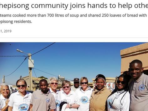 Reputation-boosting press release for NGO's Mandela Day event
