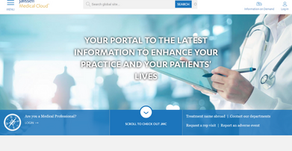 Web project management of Janssen Medical Cloud sites