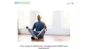 SEO-friendly health blog post for adults with ADHD