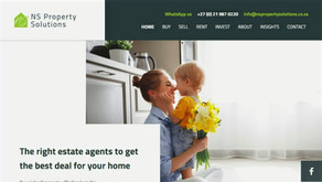 Strategic web planning and real estate copy for NS Property Solutions