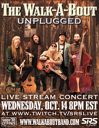 """The Walk-A-Bout Unplugged"" Concert Poster"