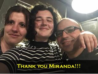 Hasta la vuelta Miranda!!!