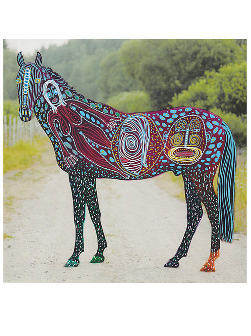 Horse.  A3 giclee print.