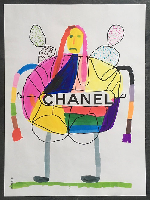Chanel Advert. 11.25 x 8.25 inches.