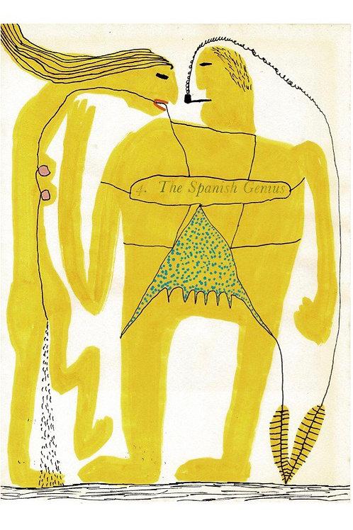 The Spanish Genius.  A3 Giclee Print.