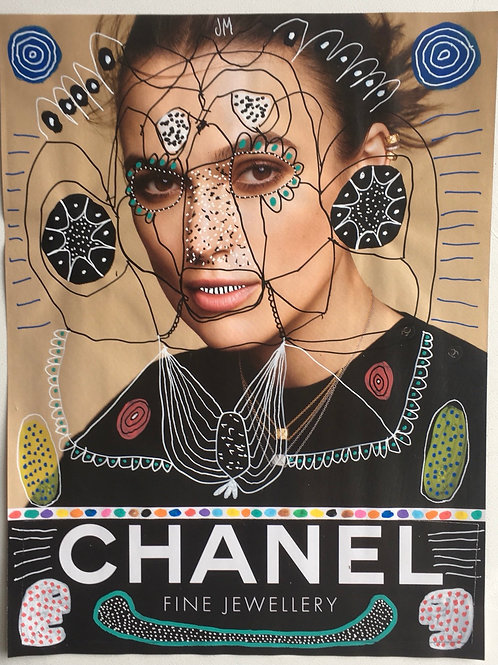 Chanel. 11.25 x 8.5 inches.