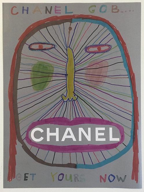 Chanel Gob. 11.2 x 8.4 inches.