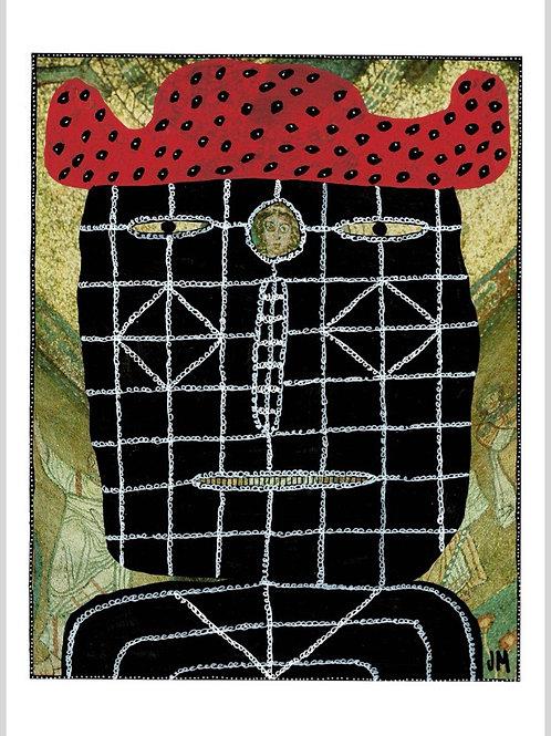 Head.  A3 Giclee Print.