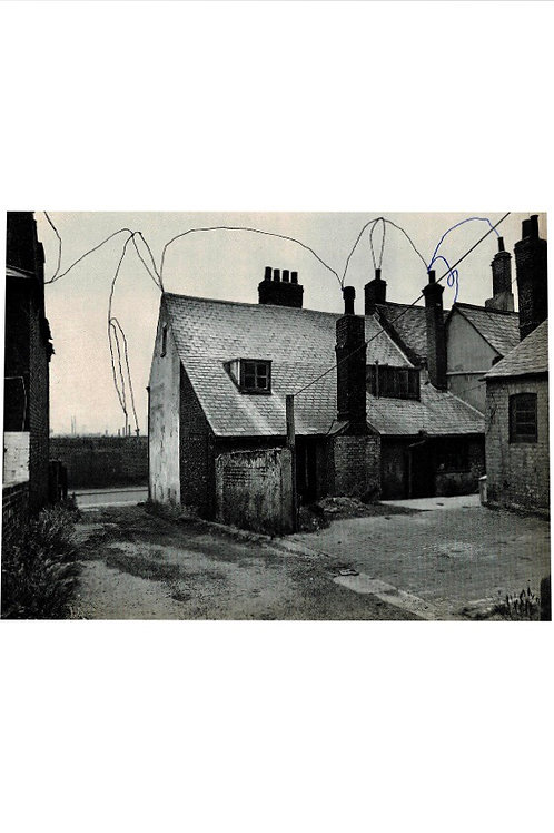 Cottages.  A3 Giclee Print.