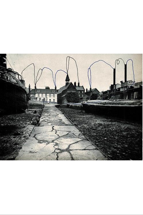 The Path.  A3 Giclee Print.
