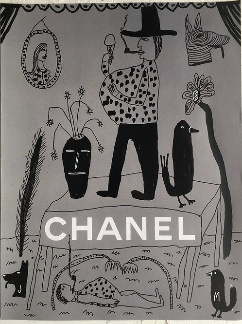 Chanel. 12 x 8.75 inches.