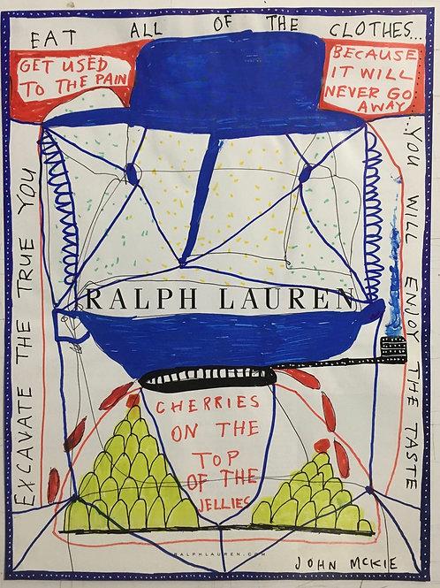 Ralph Lauren. 11.25 x 8.5 inches.