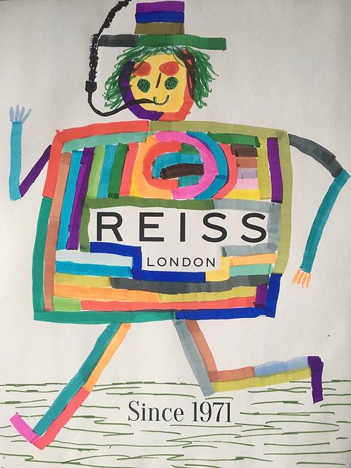 Reiss magazine advert. 11.25 x 8.4 inches.
