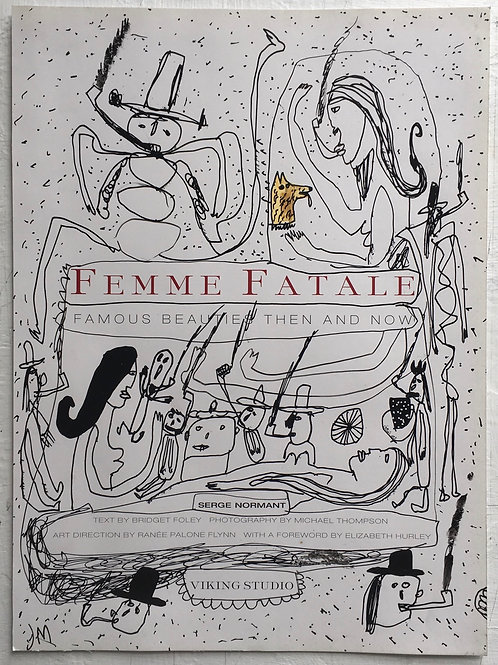 Femme Fatale. 13 x 9.5 inches.