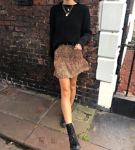 Leopard print Hannah skirt