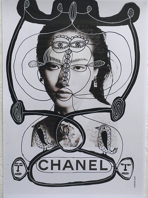 Chanel. 11.7 x 8.2 inches.