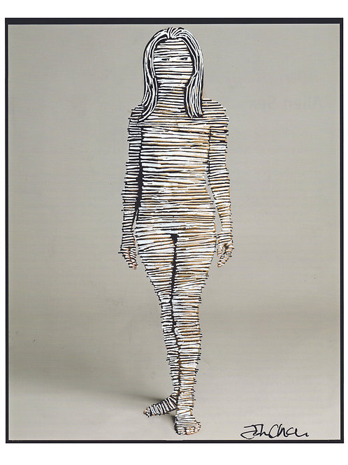 Woman.  A3 Giclee Print.