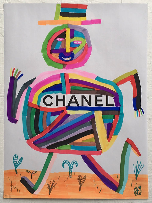 Chanel Advert. 11.75 x 8.75 inches.