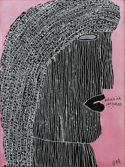 HaHaHaHaHaHa.  A3 Giclee Print.