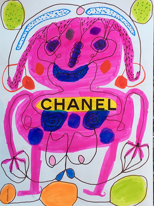 Chanel advert. 11.25 x 8.5 inches.
