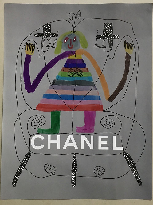 Chanel advert. 11.25 x 8.6.