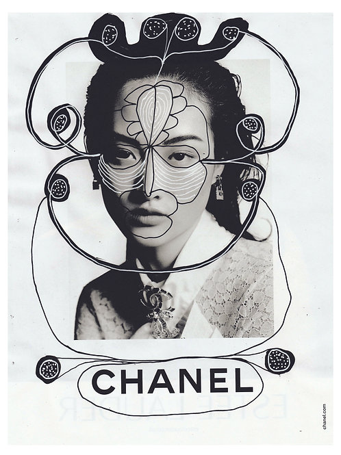 Chanel.  A3 giclee print.