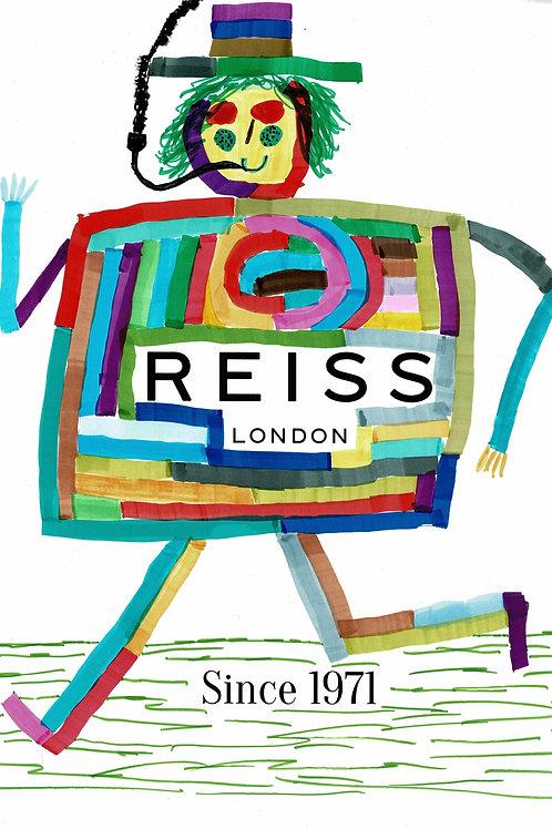 New Reiss Advert.  A3 Giclee Print.