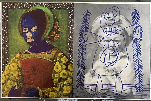 Children Portraits. 12.25 x 7.9 inches.