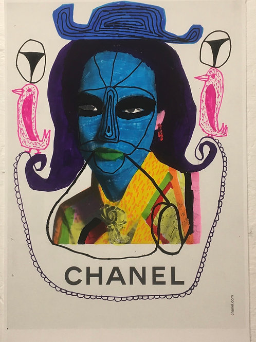 Chanel Advert. 11.7 x 8.25 inches.