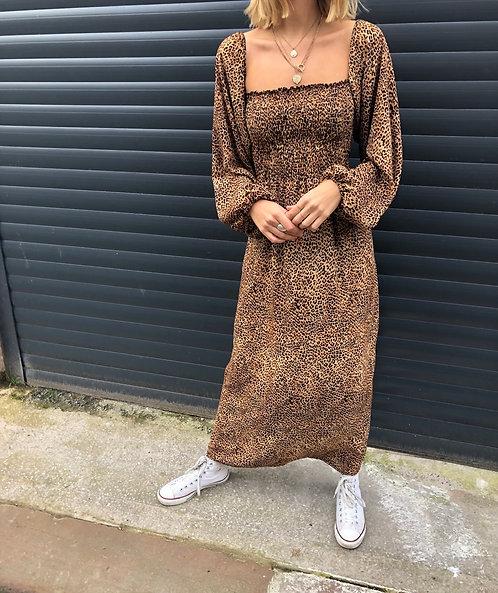 Leopard Print Lauren Dress
