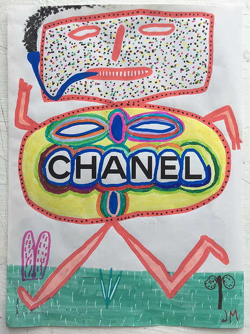 Chanel Jumper Advert. 11.4 x 8.4 inches.