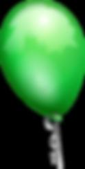 green-flying-balloons-nyc