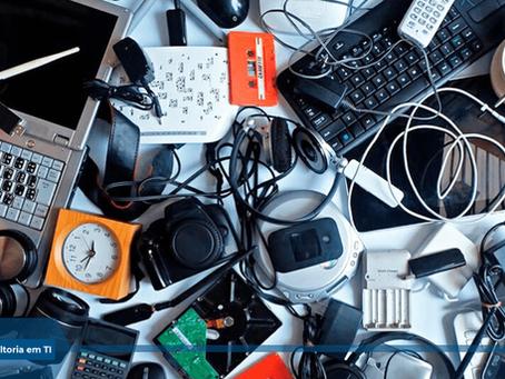 Como descartar corretamente o lixo eletrônico