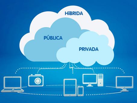 O que é e como funciona uma cloud híbrida?