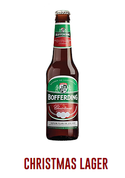 Bofferding Christmas Lager Case (Bottles)