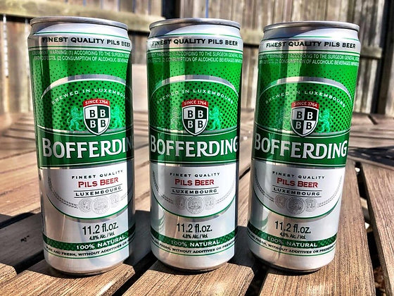 Bofferding Pilsner 24-can case