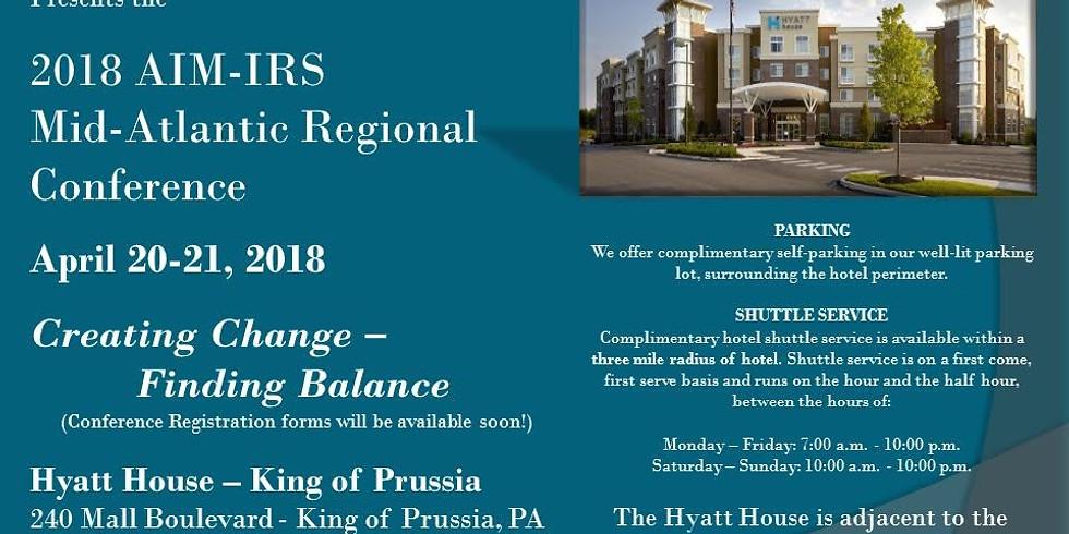 2018 Mid-atlantic Regional Conference