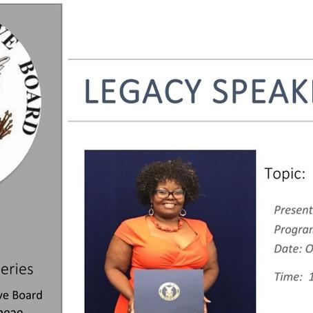 Cynthia Freeman will present on Succession Planning