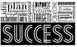 success-keywords-concept-synonyms-idea-m