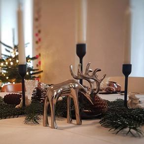Weihnachtsdinner Tischdeko