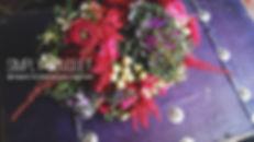новогодний букет невесты