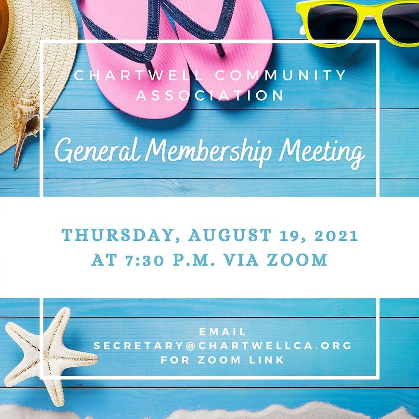 2021 General Membership Meeting