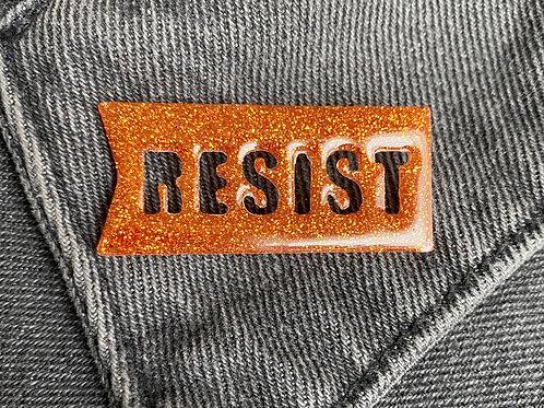 """Copper """"Resist"""" Resin Pin"""