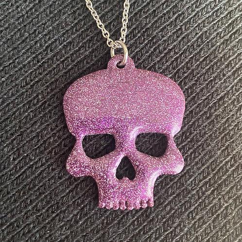 Resin Skull Necklace